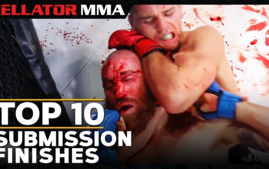 Top Ten Submission Finishes | All Weights | Bellator MMA