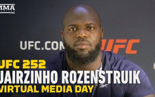 UFC 252: Jairzinho Rozenstruik Brushes Off KO Loss to Francis Ngannou, 'I Got Caught' – MMA Fighting