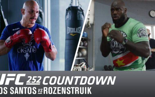 UFC 252 Countdown: Dos Santos vs Rozenstruik