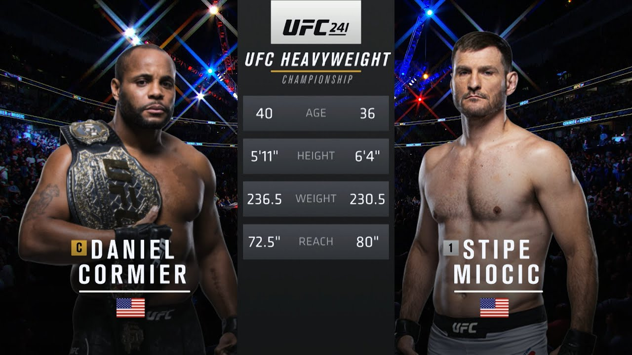 UFC 252 Free Fight: Stipe Miocic vs Daniel Cormier 2