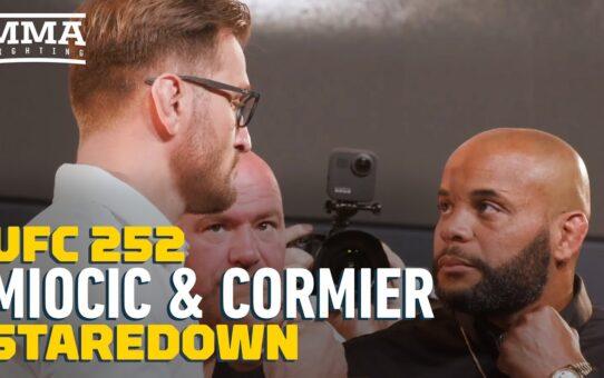 UFC 252: Stipe Miocic vs. Daniel Cormier Staredown – MMA Fighting
