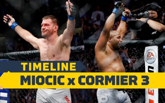 UFC 252 Timeline: Stipe Miocic vs. Daniel Cormier 3 – MMA Fighting