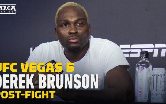 UFC Vegas 5: Derek Brunson Post-Fight Press Conference – MMA Fighting