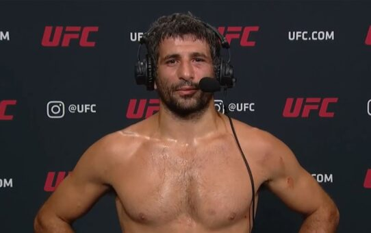 UFC Vegas 6: Beneil Dariush Interview after KO win