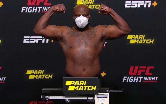 UFC Vegas 6: Lewis vs Oleinik – Weigh-in