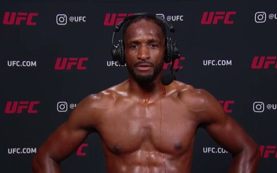 UFC Vegas 8: Neil Magny Interview after Unanimous Decision win