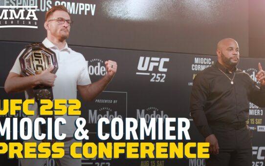 UFC252: Full Stipe Miocic vs. Daniel Cormier Press Conference