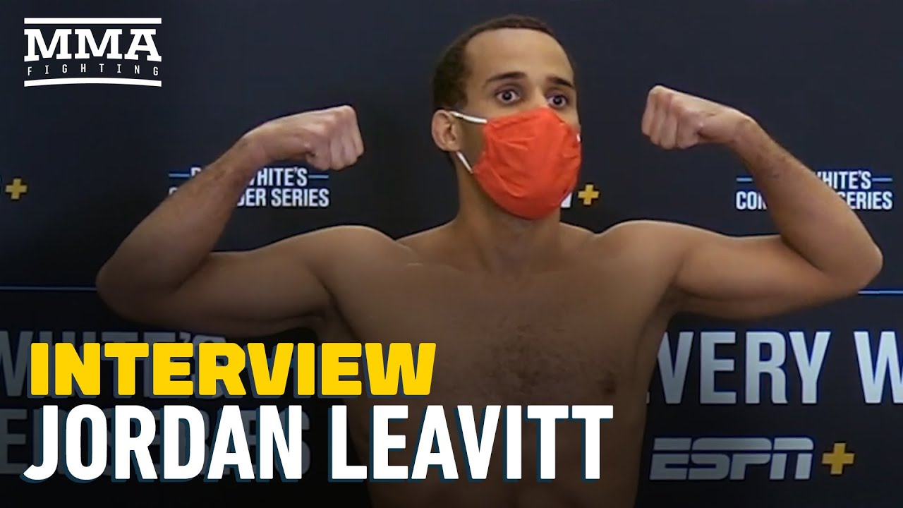 Jordan Leavitt Hopes To Leave DWCS With Contract, Less Embarrassment About Pro Career - MMA Fighting