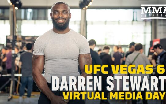 Darren Stewart Hopes to Stay in the U.S. After UFC Vegas 6 to Book Another Fight ASAP – MMA Fighting