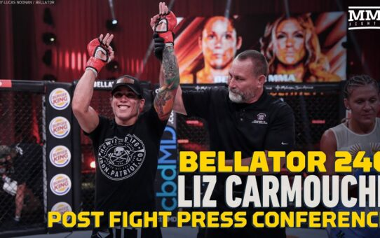 Bellator 246: Liz Carmouche Has Penalty Idea for Fighters That Miss Weight  – MMA Fighting