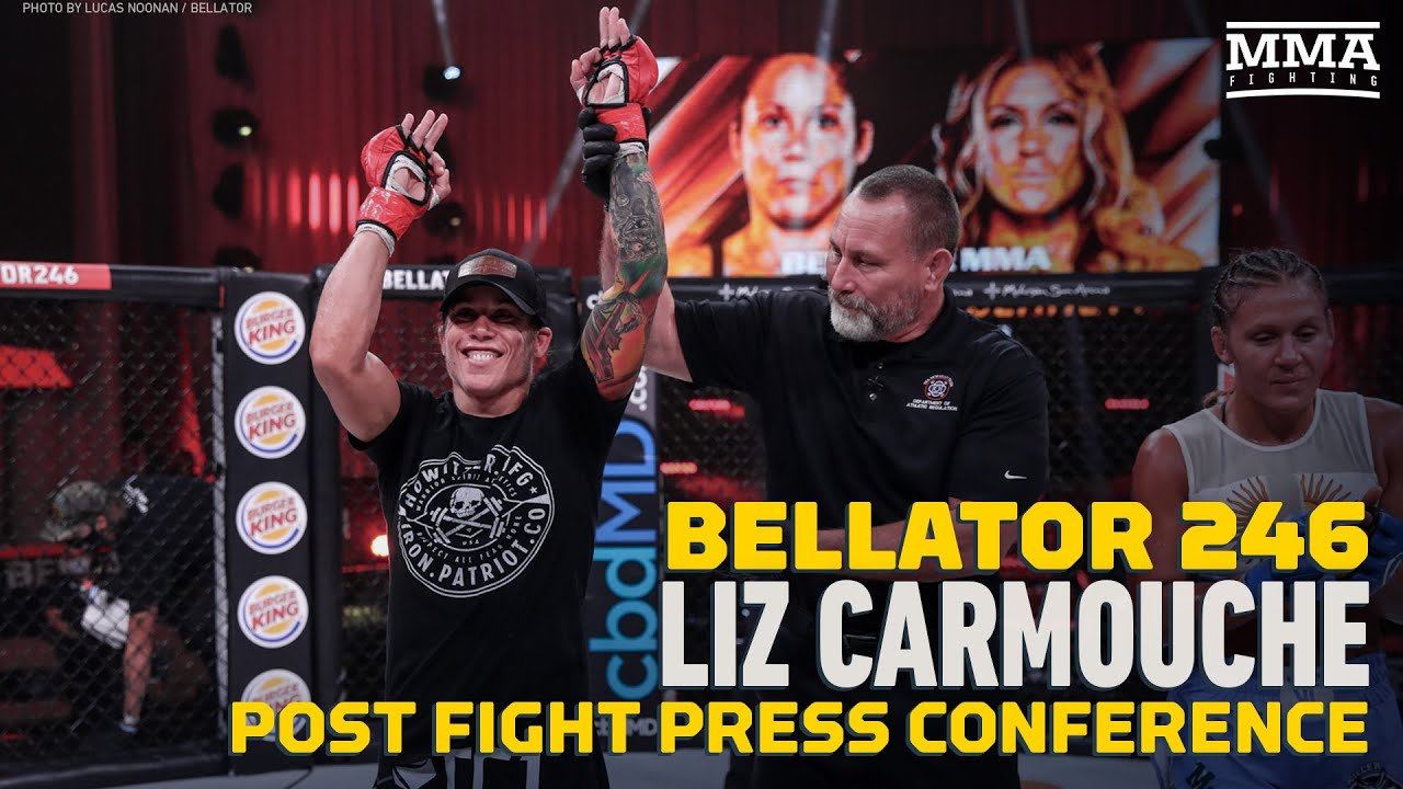 Bellator 246: Liz Carmouche Has Penalty Idea for Fighters That Miss Weight  - MMA Fighting