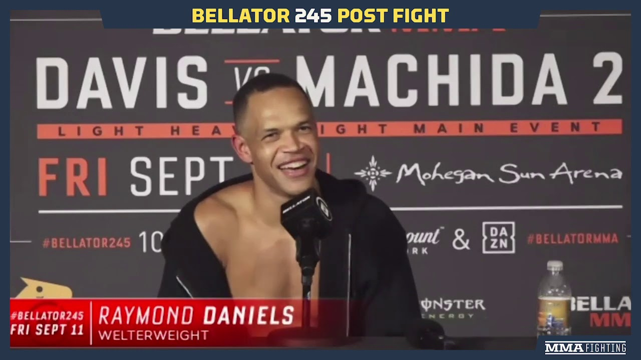 Bellator 245: Raymond Daniels Reacts To No-Contest, Unintentional Groin Strikes - MMA Fighting