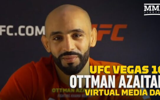 UFC Vegas 10: Otto Azaitar Wants To Please Fans: 'They Want To See Blood' – MMA Fighting