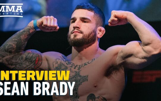 Sean Brady 'Would Love To Fight Robbie Lawler' After First UFC Finish' – MMA Fighting