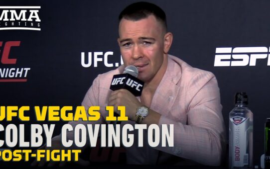 UFC Vegas 11: Colby Covington Wants Title Shot or Jorge Masvidal Next MMA Fighting