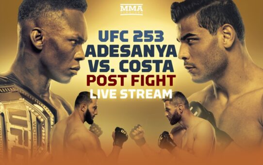 UFC 253: Israel Adesanya vs. Paulo Costa Post Fight Live Stream – MMA Fighting