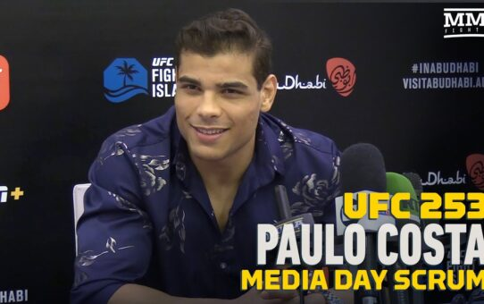 UFC 253: Paulo Costa 'Won't Chase' Israel Adesanya In the Octagon – MMA Fighting