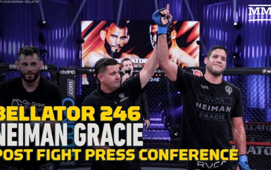 Bellator 246: Neiman Gracie Feels He's No. 1 Contender in Division Now – MMA Fighting