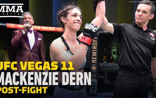 UFC Vegas 11: Mackenzie Dern 'Shocked' Randa Markos Followed Her To Ground – MMA Fighting