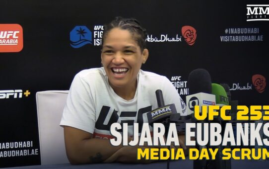 UFC 253: Sijara Eubanks Believes Holly Holm's Best Days Are Behind Her – MMA Fighting