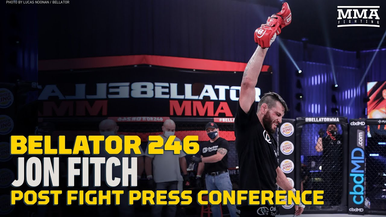 Bellator 246: Jon Fitch Explains Decision to Retire After Loss - MMA Fighting