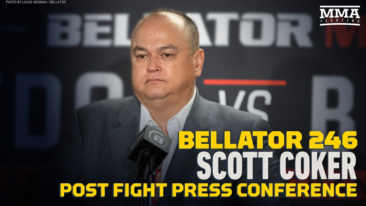 Bellator 246: Scott Coker Post-Fight Press Conference - MMA Fighting