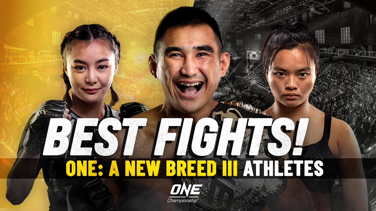 Best Fights | ONE: A NEW BREED III Athletes