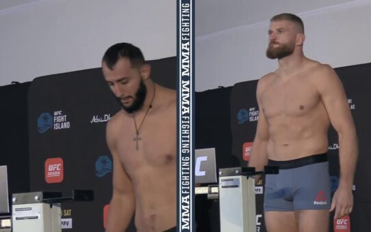 UFC 253 Weigh-Ins: Dominick Reyes, Jan Blachowicz Make Weight – MMA Fighting