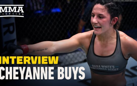 Contender Series Winner Cheyanne Buys Messaged Dana White For Two Years: 'I'm A Be A Star For You'
