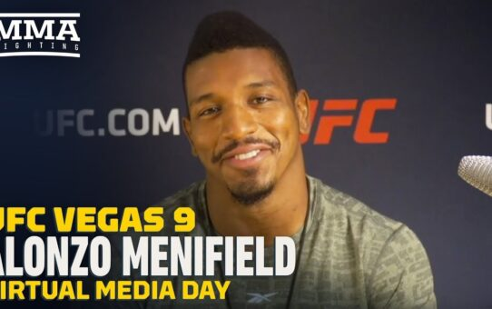 UFC Vegas 9: Alonzo Menifield Confident Ovince Saint Preux Healthy and Ready To FIght – MMA Fighting