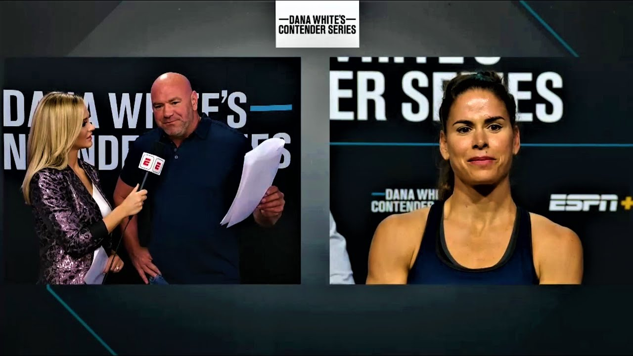 Dana White Announces Contract Winners | Week 7 - Contender Series Season 4