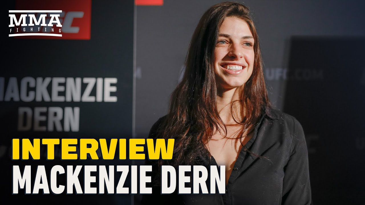 Mackenzie Dern Recounts Story Of Husband Getting Into Fight With Ex-Coach - MMA Fighting