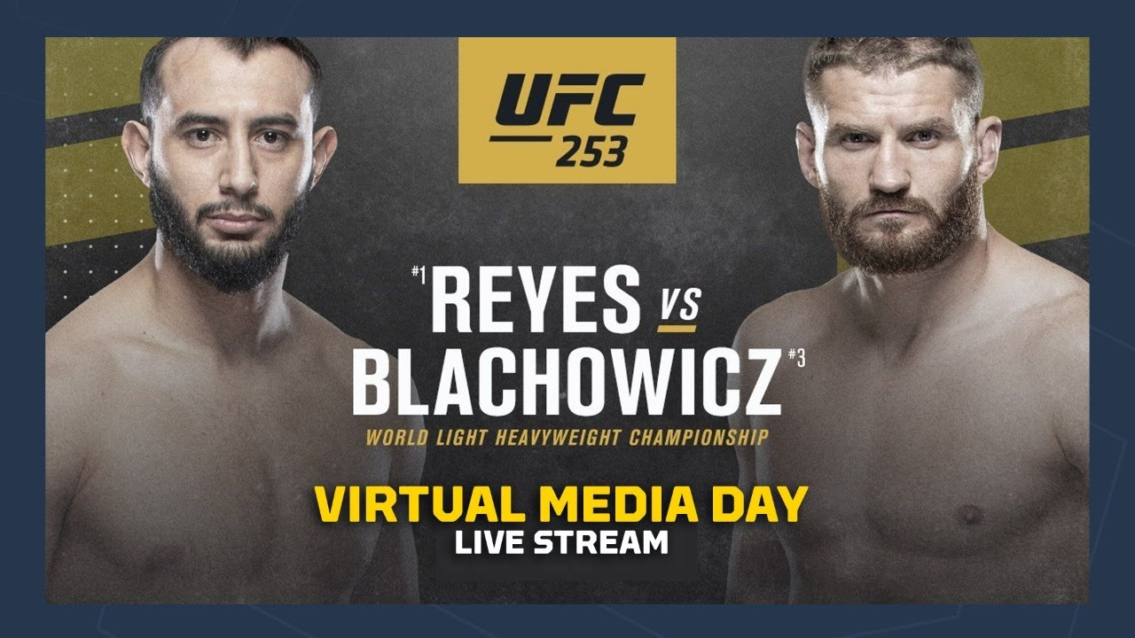 UFC 253: Dominick Reyes vs Jan Blachowicz Virtual Media Day - MMA Fighting