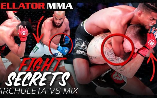 Fight Secrets | Archuleta vs Mix | Bellator MMA