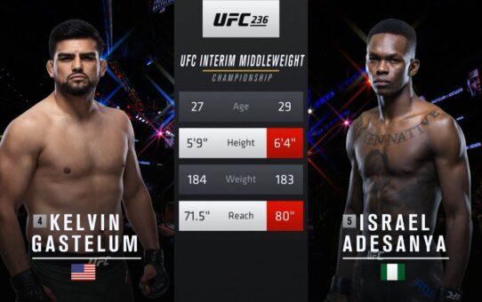 Free Fight: Israel Adesanya vs Kelvin Gastelum