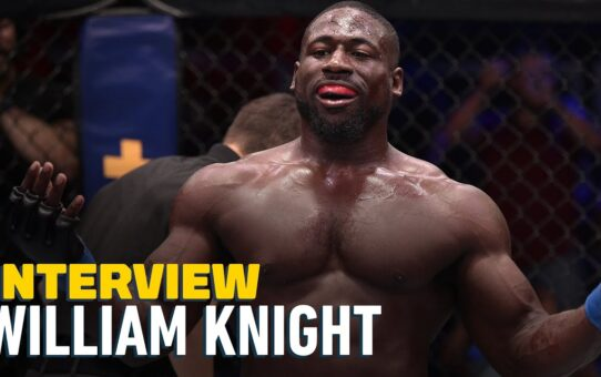 William Knight: Watching Kevin Randleman Fights Changed My Mentality Ahead of DWCS 31 – MMA Fighting