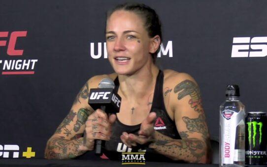 UFC Vegas 11: Jessica-Rose Clark Didn't Want To Keep Hurting Sarah Alpar – MMA Fighting