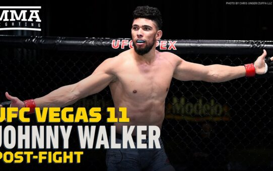UFC Vegas 11: Johnny Walker Unhappy with Performance Against Ryan Spann – MMA Fighting