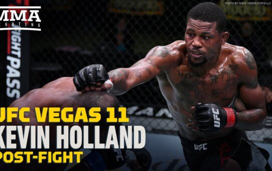 UFC Vegas 11: Kevin Holland Details Khamzat Chimaev Run-In: 'He Called Me 'The Help' – MMA Fighting