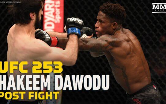 UFC 253: Hakeem Dawodu Regrets Swearing At 'Running Man' Zubaira Tukhugov – MMA Fighting