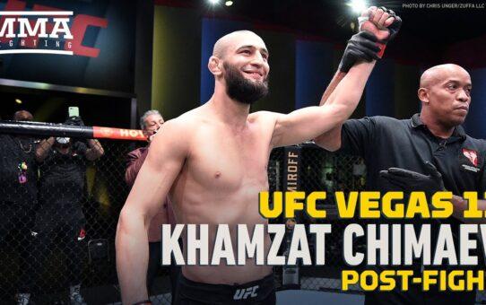 UFC Vegas 11: Khamzat Chimaev On Comparisons To Khabib Numarmagomedov: 'I am Khamzat' – MMA Fighting