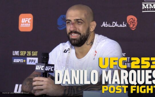 UFC 253: Danilo Marques Not Frustrated He Couldn't Finish Khadis Ibragimov – MMA Fighting