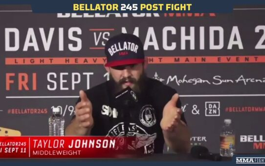 Bellator 245: Taylor Johnson Believes He's In the Mix At 185 After Submitting Ed Ruth – MMA Fighting