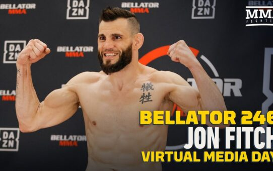 Bellator 246: Jon Fitch Aims To Give Fans '15 Minutes of Carnage To Escape' – MMA Fighting
