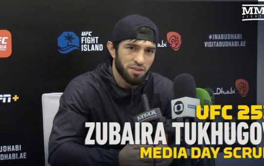 UFC 253: Zubaira Tukhugov Fine With Being Known As the Guy Who Punched Conor McGregor – MMA Fighting