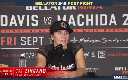 Bellator 245: Cat Zingano Admits Promotional Debut 'Was A Terrifying Fight For Me' – MMA Fighting