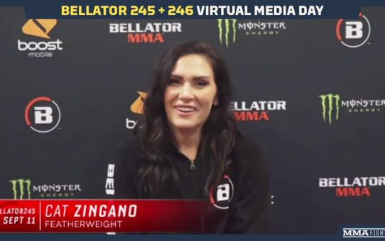 Bellator 245: Cat Zingano Happy At Featherweight, 'Pretty Sure I Almost Died' at 135 – MMA Fighting