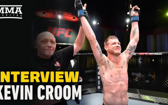 Kevin Croom Talks Going From $64 To 'More Money Than I Made Last Year At UFC Vegas 10 – MMA Fighting