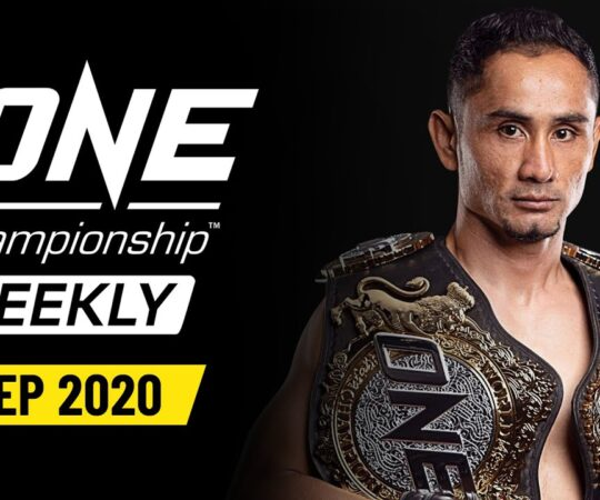 ONE Championship Weekly | 24 September 2020