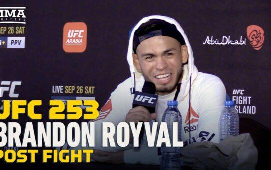 UFC 253: Brandon Royval Wants Askar Askarov or Jussier Formiga Next – MMA Fighting